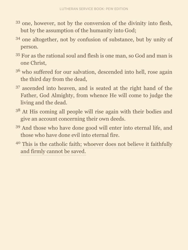 Athanasian Creed pt.4